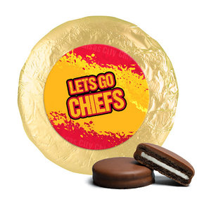 Go Chiefs! Superbowl Milk Chocolate Covered Oreo Cookies (24 Pack)