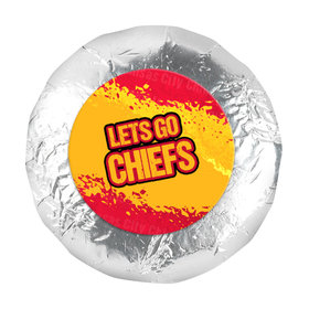 "Go Chiefs! Super Bowl 1.25"" Stickers (48 Stickers)"