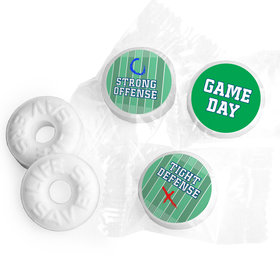 Personalized Super Bowl Themed Football Field Life Savers Mints
