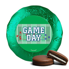 Personalized Football Field Milk Chocolate Covered Oreos (24 Pack)