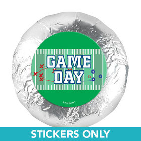 "Personalized Football Field 1.25"" Stickers (48 Stickers)"
