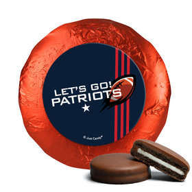 Patriots Football Party Milk Chocolate Covered Oreos (24 Pack)