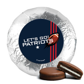 "Patriots Football Party 1.25"" Stickers (48 Stickers)"