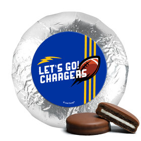 "Chargers Football Party 1.25"" Stickers (48 Stickers)"