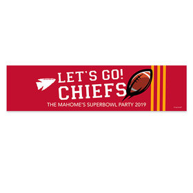 Chiefs Football Party Banner