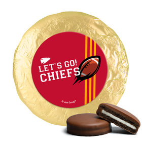 Chiefs Football Party Milk Chocolate Covered Oreos (24 Pack)
