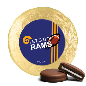Rams Football Party Milk Chocolate Covered Oreos (24 Pack)