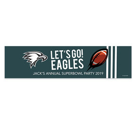 Eagles Football Party Banner
