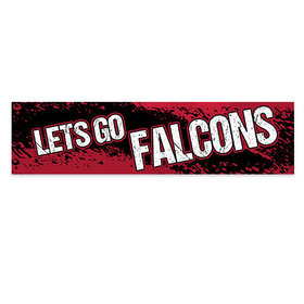 Let's Go Falcons Football Party Banner