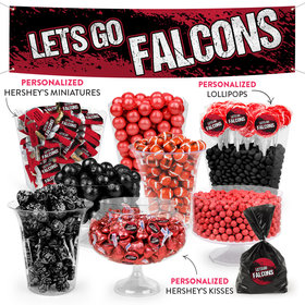 Lets Go Falcons Deluxe Candy Buffet