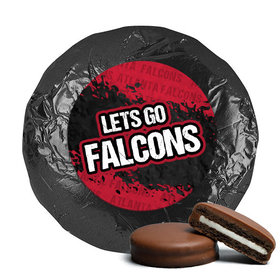 Let's Go Falcons Milk Chocolate Covered Oreos (24 Pack)
