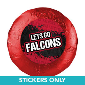 "Let's Go Falcons 1.25"" Stickers (48 Stickers)"