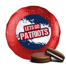 Let's Go Patriots Chocolate Covered Oreos (24 Pack)