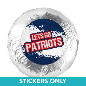"Let's Go Patriots 1.25"" Stickers (48 Stickers)"