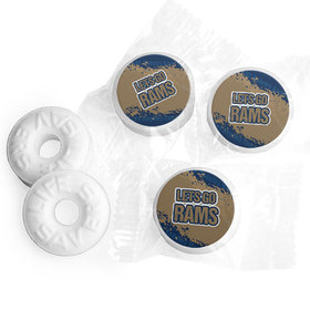Let's Go Rams Football Party Life Savers Mints