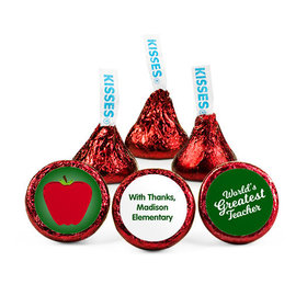 Personalized Teacher Appreciation Big Apple Hershey's Kisses (50 pack)
