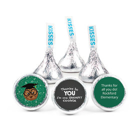 Personalized Teacher Appreciation One Smart Cookie Hershey's Kisses (50 pack)