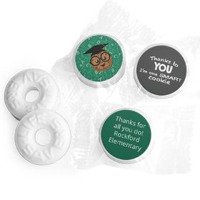 Personalized Teacher Appreciation One Smart Cookie Life Savers Mints