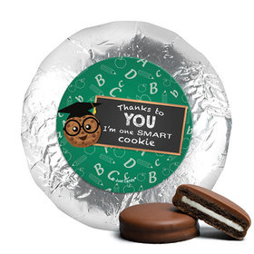 Teacher Appreciation One Smart Cookie Milk Chocolate Covered Oreos