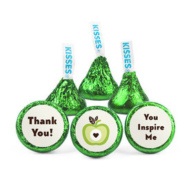 Personalized Teacher Appreciation One Cool Apple Hershey's Kisses (50 pack)