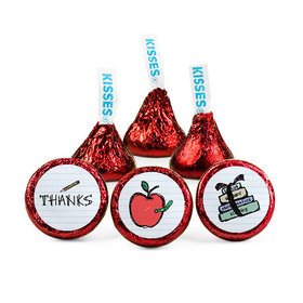 Personalized Teacher Appreciation Doodle Hershey's Kisses (50 pack)