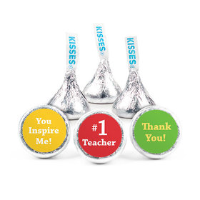 Personalized Teacher Appreciation Inspiration Hershey's Kisses (50 pack)