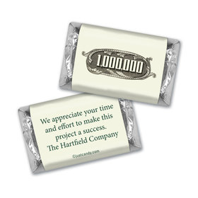 Business Thank You Personalized Hershey's Miniatures Thanks a Million
