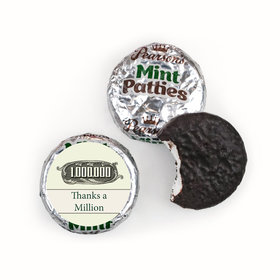 Business Thank You Personalized Pearson's Mint Patties Thanks a Million