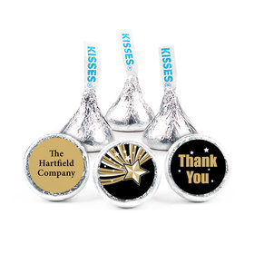 "Business Thank You 3/4"" Sticker Gold Stars (108 Stickers)"