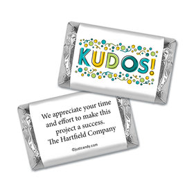 Personalized Employee Appreciation Kudos! Hershey's Miniature Wrappers Only