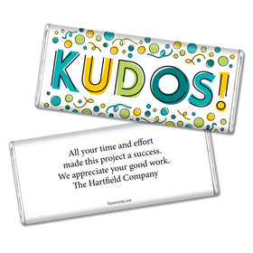 Employee Appreciation Personalized Chocolate Bar Kudos!