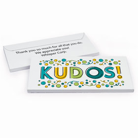 Deluxe Personalized Business Thank You Kudos Hershey's Chocolate Bar in Gift Box