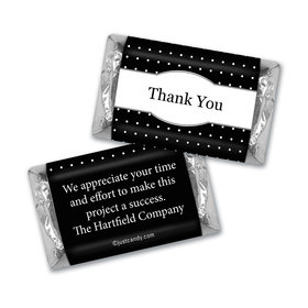 Thank You Personalized Hershey's Miniatures Pin Dots