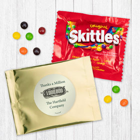 Personalized Business Thanks a Million Skittles