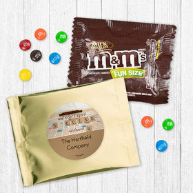 Personalized Business Thank You Scrabble Success Milk Chocolate M&Ms