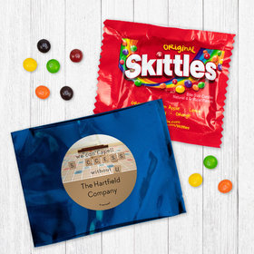 Personalized Business Thank You Scrabble Success Skittles