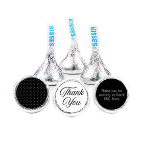 "Business Promotional 3/4"" Sticker Dotted Thank You (108 Stickers)"