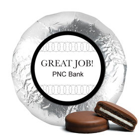 Business Promotional Chocolate Covered Foil Oreos Thank You Add Your Logo