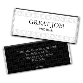 Personalized Business Thank You Great Job Chocolate Bar & Wrapper