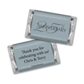 Personalized Simple Anniversary Hershey's Miniatures