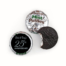 Anniversary Simple 25th Anniversary Pearson's Mint Patties