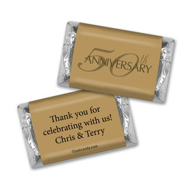 50th Anniversary Chocolate Favor