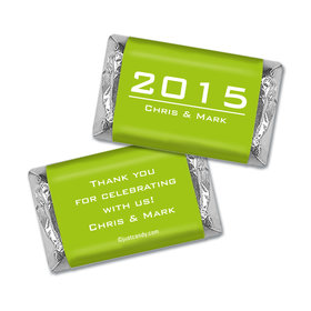 Anniversary Personalized Hershey's Miniatures Wrappers Banner Year