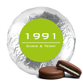Anniversary Chocolate Covered Oreos Banner Year