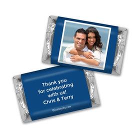 Anniversary Personalized Hershey's Miniatures Photo & Message