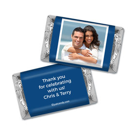 Anniversary Personalized Hershey's Miniatures Wrappers Photo & Message