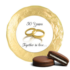 Anniversary Chocolate Covered Oreos 50th Rings