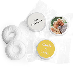 Anniversary Personalized Life Savers Mints Full Photo