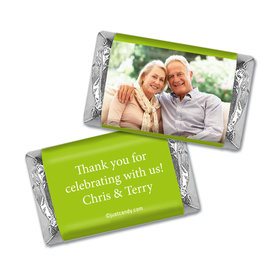 Anniversary Personalized Hershey's Miniatures Wrappers Full Photo