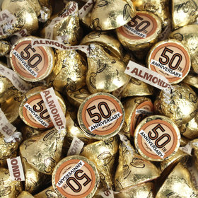 50th Anniversary Hershey's Kisses Candy